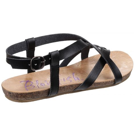 blowfish sandals blowfish granola s black sandals free returns at
