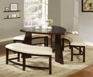 Dining Room Sets With Bench Seating by Small Dining Room Decor Home Designs Project
