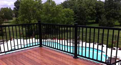 Aluminum Handrails For Decks aluminum handrail deck railing restore outdoor