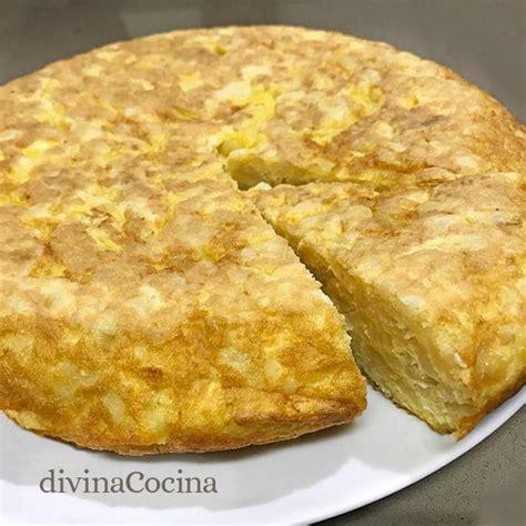 recetas de cocina tortilla de patatas tortilla de patatas receta cl 225 sica divina cocina