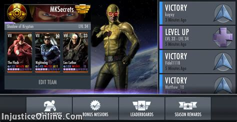 injustice gods among us new challenge injustice gods among us mobile flash