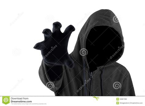 pattern white bandit mask price scary thief try to grab something stock photo image