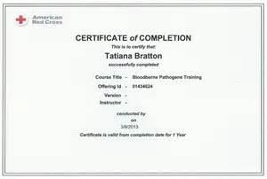 bloodborne pathogens policy template cpr bloodborne pathogens certification template cpr
