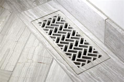 Custom Floor Registers by Custom Waterjet Heat Register Covers Center Inc