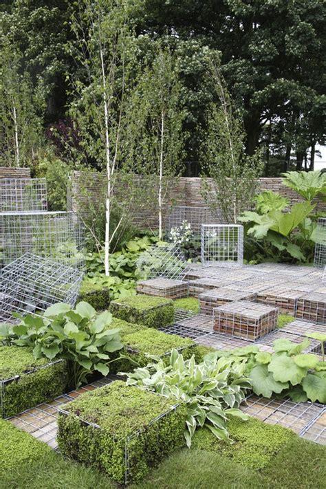Landscape Mesh 36 Best Images About Gabions On Planters Diy
