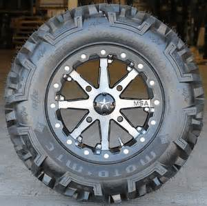 Tires And Rims Kit Polaris Ranger Rzr 570 And Rzr S 570 Wheels Tires
