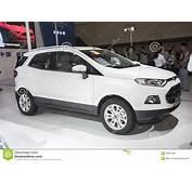 Wei&223es Furt Ecosport Auto Redaktionelles Stockbild  Bild