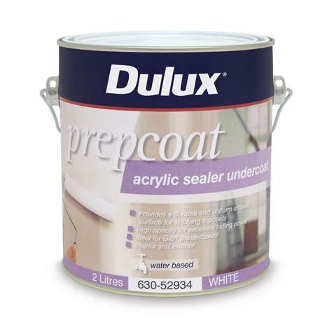 Sealer Dulux Dulux Prepcoat Sealer Undercoat 2l White Acrylic
