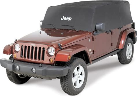 Cover For Jeep Wrangler Mopar 82210323 Mopar 174 Jeep 174 Logo Cab Cover For 07 16