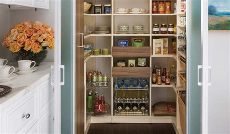 Custom Pantry Design by Transform Pantries Space Saving Easy Pull Out