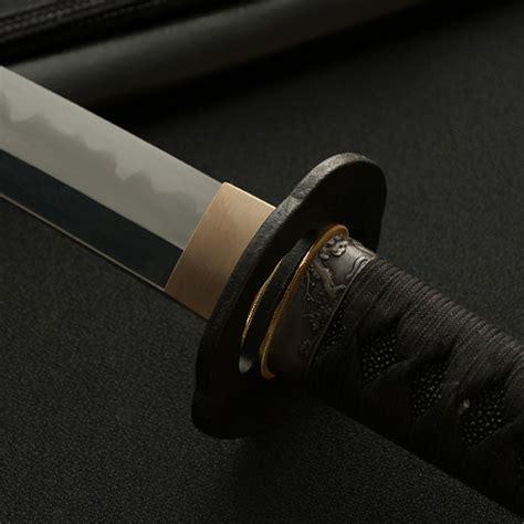 Katana Black Tiger Black Tiger Samurai Sword T10 Kaneie Sword