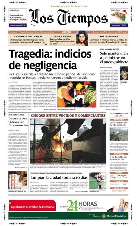 hemeroteca buscar noticias los tiempos los tiempos is a newspaper published in cochabamba
