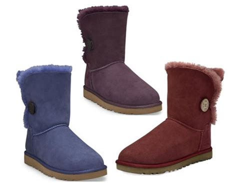 uggs colors ugg bailey button boots 2010 new colours releases