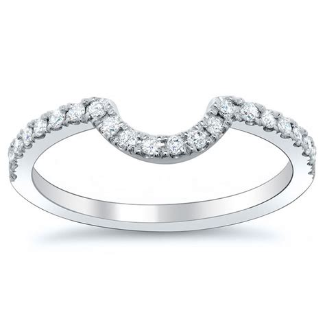 25 best ideas about curved wedding band on