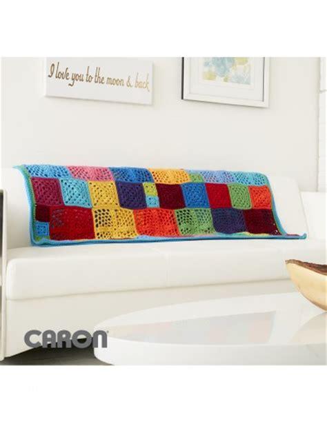 Gamis Motif Soft Color 03 caron 100 motif afghan crochet pattern yarnspirations