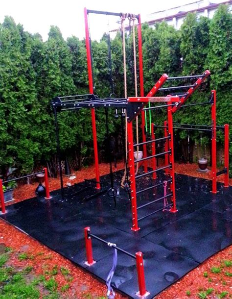 backyard gymnastics equipment outdoor pinteres