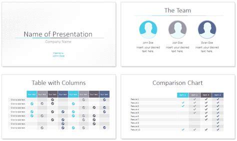 minimalist powerpoint template minimal powerpoint template presentationdeck