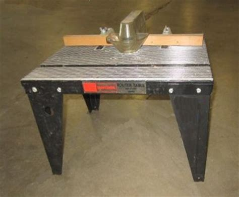 Sears Router Table by The Master Woodbutcher S Craftsman Router Table Picture Page