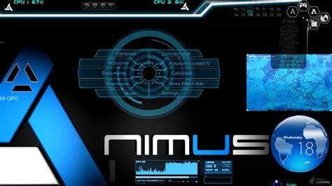 animus desktop rainmeterae effect youtube