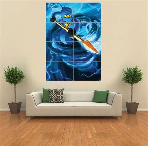printable lego wall art lego ninjago giant wall art print picture poster g1185 ebay