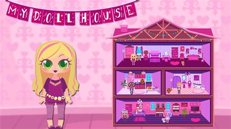 My Doll House Design And Decoration Game For Iphone And Android Youtube