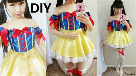 Handmade Snow White Costume - snow white costume diy rawsolla