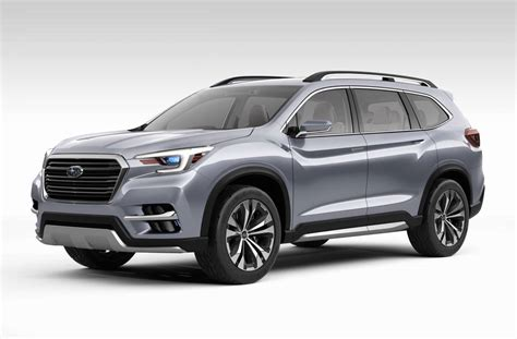 subaru concept subaru ascent concept previews 7 seater for america