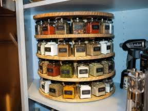 Best Spice Racks For Kitchen Cabinets by Diy Carousel Spice Rack Via Reddit Http Imgur Com A