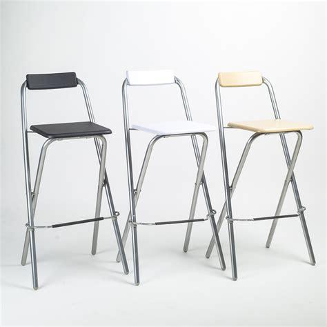 Folding Bar Stools With Backrest ecdaily folding minimalist bar stool bar stool fishing chair backrest high chair bar chair steel
