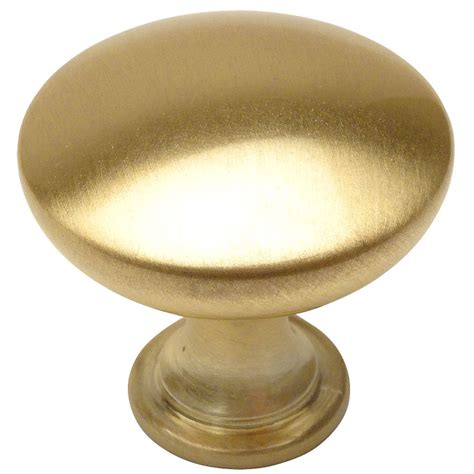 Brass Cabinet Knob by Cosmas 5305bb Brushed Brass Cabinet Knob