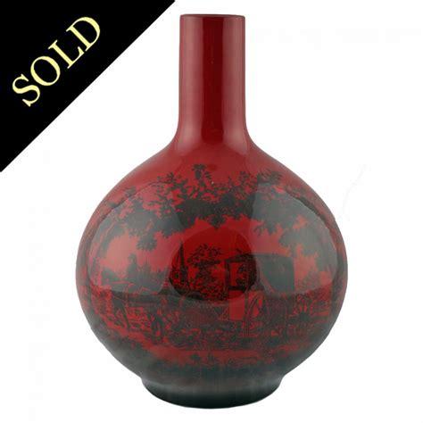 Royal Doulton Vase royal doulton vase royal doulton flambe flambe woodcut