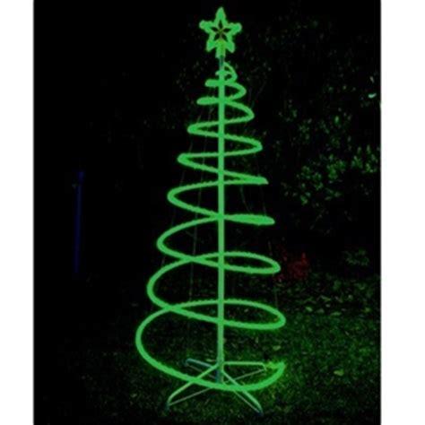 buy 120cm green solar led spiral tree rope light graysonline australia