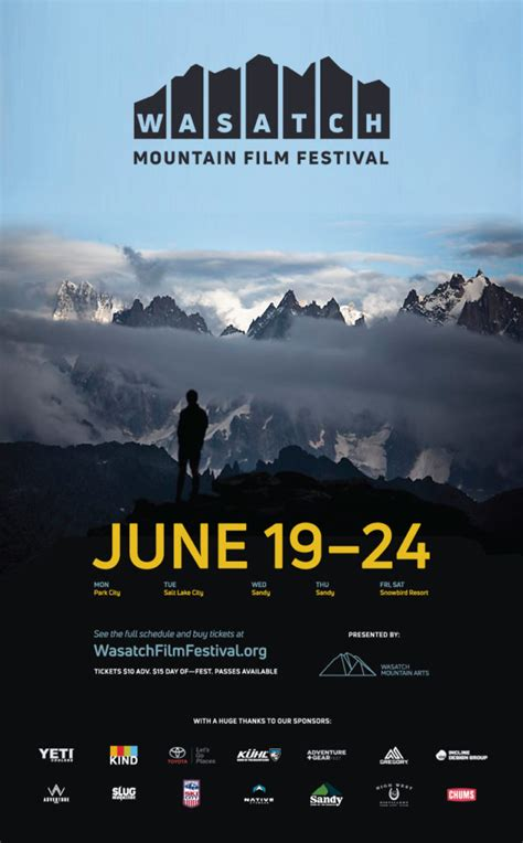 film 2017 mountain 2017 wasatch mountain film festival is bigger and better