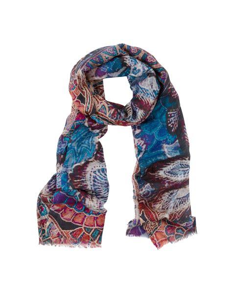 moroccan multi color and silk scarf bindya