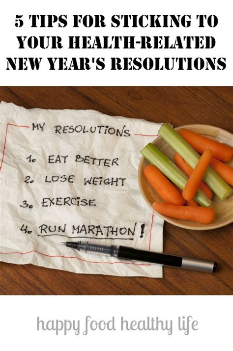 5 tips for sticking to your health related new year s