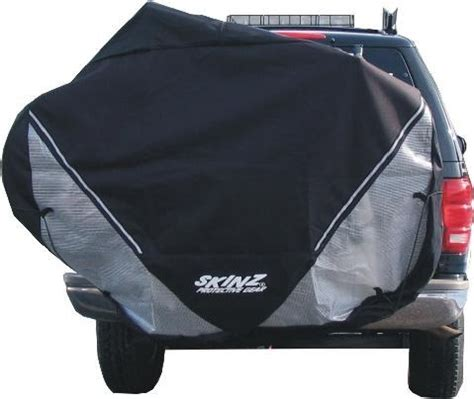 Bike Cover For Hitch Rack skinz rtc100 transparent hitch bike cover www
