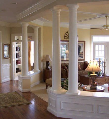 house with columns columns interior columns woodwork pinterest front