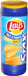 Lays Stax Salt And Vinegar by Lay S Stax Salt Vinegar