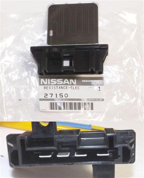 n16 fan resistor genuine nissan x trail pulsar n16 heater aircon fan motor resistor card pulsar 27150 8h300 jdm