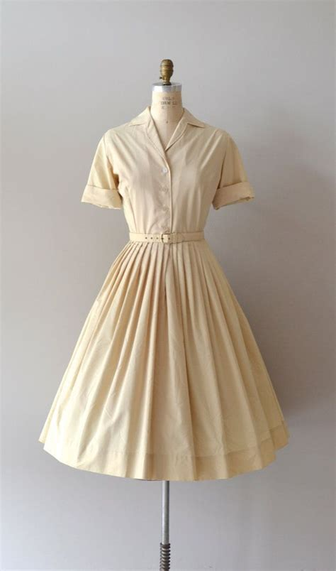 Classic Shirt Dress 1950s dress vintage 50s shirtdress amandel shirtwaist