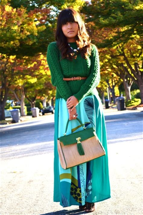 Maxi Cantik Green zara green dress