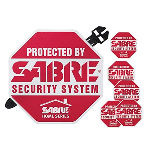 sabre home security decals