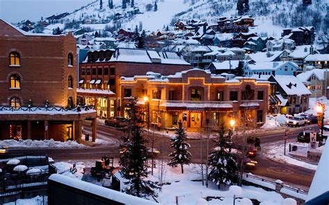 usa towns america s best ski towns travel leisure