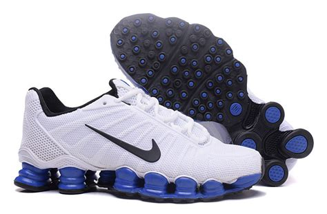 high end athletic shoes high end product nike shox tlx kpu white black royal blue