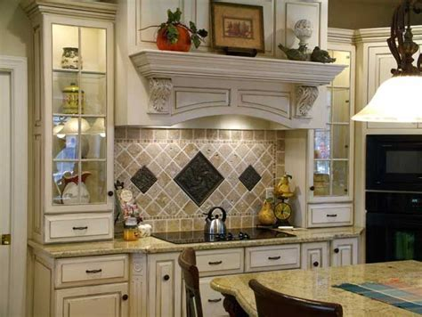 kitchen tile ideas different tile behind stove kitchen behind range feature diagonal cut natural stone with