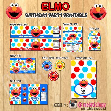 Stiker Label Nama Mix Karakter Paket B Stationery Sekolah jual paket stiker label untuk ulang tahun anak tema elmo stiker onlen