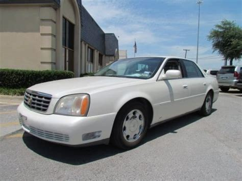 2001 cadillac dhs sedan data info and specs