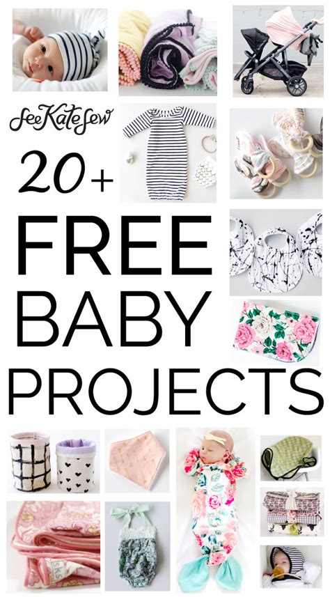 Free Projects - 20 free baby sewing projects see kate sew