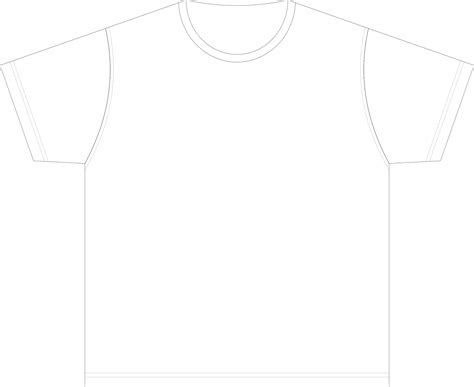 blank shirt template big image png