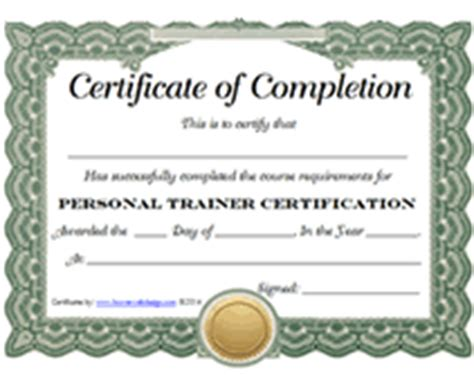 Personal Trainer Certification With Issa by List Of Free Printable Personal Trainer Certification